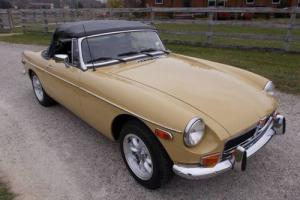 1973 MG MGB ROADSTER