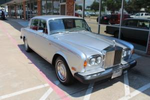 1979 Rolls-Royce Other Silver Shadow II 75th Anniversary Edition