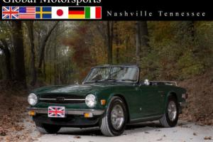 1975 Triumph TR-6 Great driver! NO RUST! Previously owned by an airc