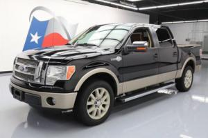 2011 Ford F-150 KING RANCH CREW 5.0 SUNROOF NAV