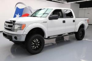 2013 Ford F-150 CREW 5.0 4X4 LIFTED LEATHER 20'S