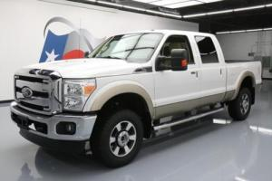 2011 Ford F-350 LARIAT CREW 4X4 LEATHER REAR CAM Photo