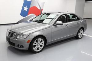 2008 Mercedes-Benz C-Class C300 LUXURY HTD SEATS SUNROOF