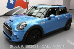 2015 Mini Cooper S HATCHBACK 6-SPEED PANO SUNROOF