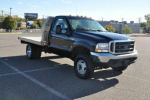 2003 Ford F-350 XLT 4X4 Alum Flatbed Dually 7.3L LOW MI. ONLY 95K