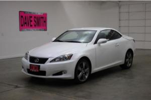 2011 Lexus IS 2dr Conv Auto