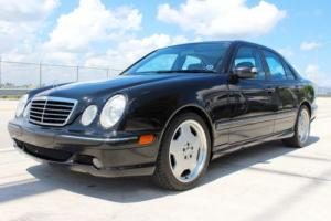 2000 Mercedes-Benz E-Class E55 AMG 4dr Sedan Sedan 4-Door Automatic 5-Speed