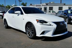 2014 Lexus IS 4dr Sedan RWD