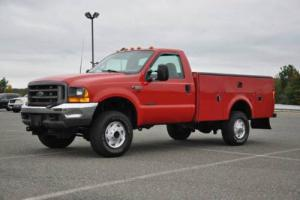 2000 Ford F-350 XL 4X4 Utility Body 7.3L 1 OWNER ONLY 112K CLEAN