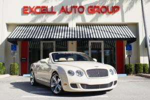 2010 Bentley Continental GT 2dr Convertible Speed