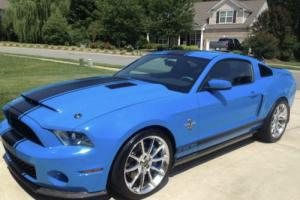 2012 Ford Mustang Shelby GT500 Super Snake 800HP