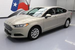 2015 Ford Fusion S CRUISE CONTROL REAR CAM ALLOYS