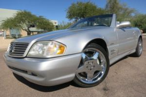2002 Mercedes-Benz SL-Class SL500 Convertible Silver Arrow