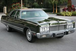 1973 Chrysler New Yorker TWO OWNER SURVIVOR - 22K MILES