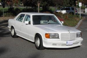 1980 Mercedes-Benz 300-Series AMG 380 SEL Photo