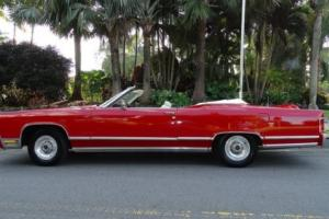 1978 Lincoln Continental TOWN COUPE CONVERTIBLE