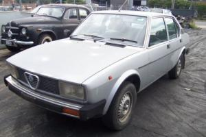 ALFA ALFETTA 2000 LTR SEDAN ON THE WAY UP!!