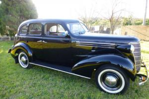 1938 CHEVROLET MASTER DELUXE CLASSIC  VINTAGE CAR  Full NSW REGO.6 Cyl. Manual