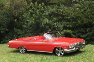 1962 Chevrolet Impala SS Convertible 409/425hp, 4 speed manual