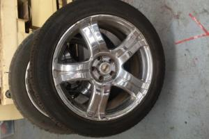FORD TERRATORY RIMS AND TYRES