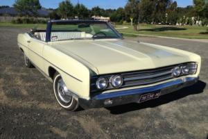 Ford Galaxie Convertible 302 V8 Auto. Not Mustang, Fairlane or Thunderbird.