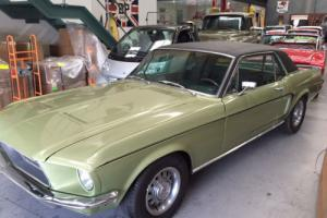 1968 FORD MUSTANG GT V8 390 Big block GENIUNE S CODE MATCHING NUMBERS