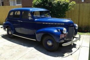 1940 Chev Ride Master Deluxe Classic Car and Parts available