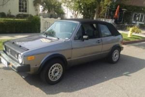 1987 Volkswagen Rabbit Photo
