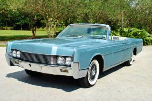 1966 Lincoln Continental Convertible Suicide Doors Very Nice Classic!