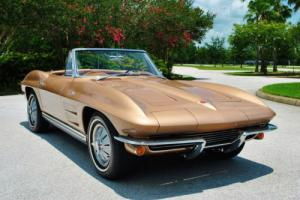 1964 Chevrolet Corvette Convertible Numbers Matching 327/365HP 4-Speed