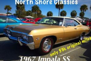 1967 Chevrolet Impala SS-Real SS-Numbers Match-only 59K miles--NEW LOW P