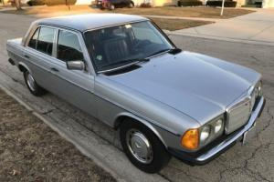 1980 Mercedes-Benz 300-Series Euro-Spec Diesel