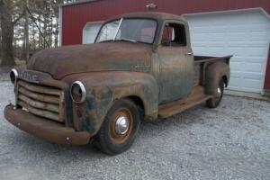 1952 GMC Barn Find 3800