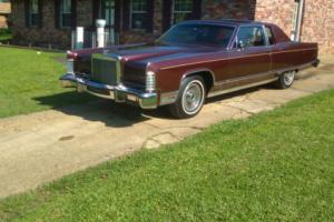 1977 Lincoln Town Car Cartier