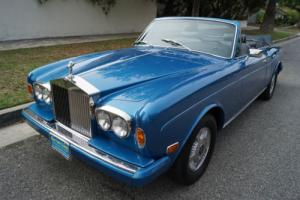 1980 Rolls-Royce Corniche CORNICHE DROP HEAD COUPE CONVERTIBLE