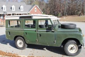 1966 Land Rover Series 2a 109 Wagon