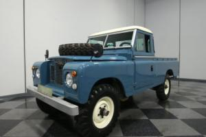 1969 Land Rover Series IIA 109 Pickup