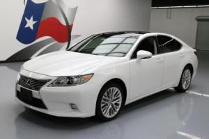 2014 Lexus ES ULTRA LUX PANO ROOF NAV CLIMATE SEATS!