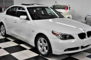 2006 BMW 5-Series ONLY 55,306 MILES! CARFAX CERTIFIED!