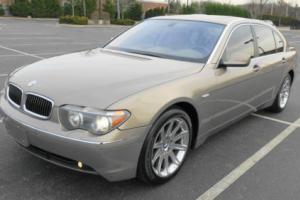 2003 BMW 7-Series Long Wheelbase Sport
