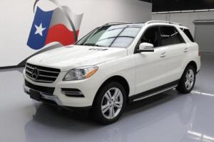 2013 Mercedes-Benz M-Class ML350 BLUETECATIC AWD DIESEL NAV!