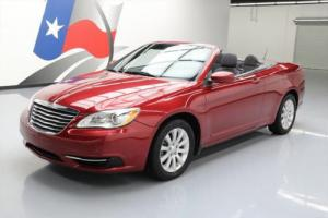 2013 Chrysler 200 Series TOURING CONVERTIBLE SOFT TOP
