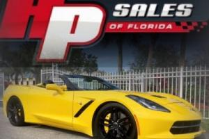 2014 Chevrolet Corvette 3LT, Z51 Convertible WOW