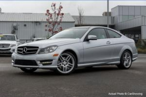 2014 Mercedes-Benz C-Class CERTIFIED 2014 MB C350 Coupe w/ Blind Spot Assist