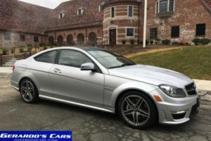 2012 Mercedes-Benz C-Class C 63 AMG 2dr Coupe Coupe 2-Door Automatic 7-Speed