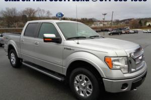 2012 Ford F-150 SuperCrew Lariat Ecoboost 4x4 Nav Heated Cooled
