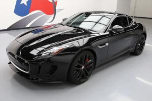 2016 Jaguar F-Type S SUPERCHARGED PANO ROOF NAV 20'S