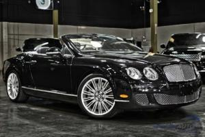 2010 Bentley Continental GT GTC Speed
