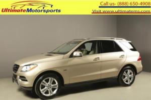 2012 Mercedes-Benz M-Class 2012 ML350 BLUETEC DIESEL AWD NAV SUNROOF LEATHER