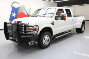 2010 Ford F-350 LARIAT CREW CAB DIESEL DRW FX4 4X4 Photo